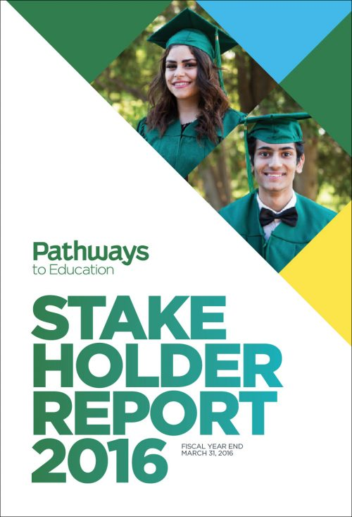Pathways to Education – 2016 Stakeholder Report