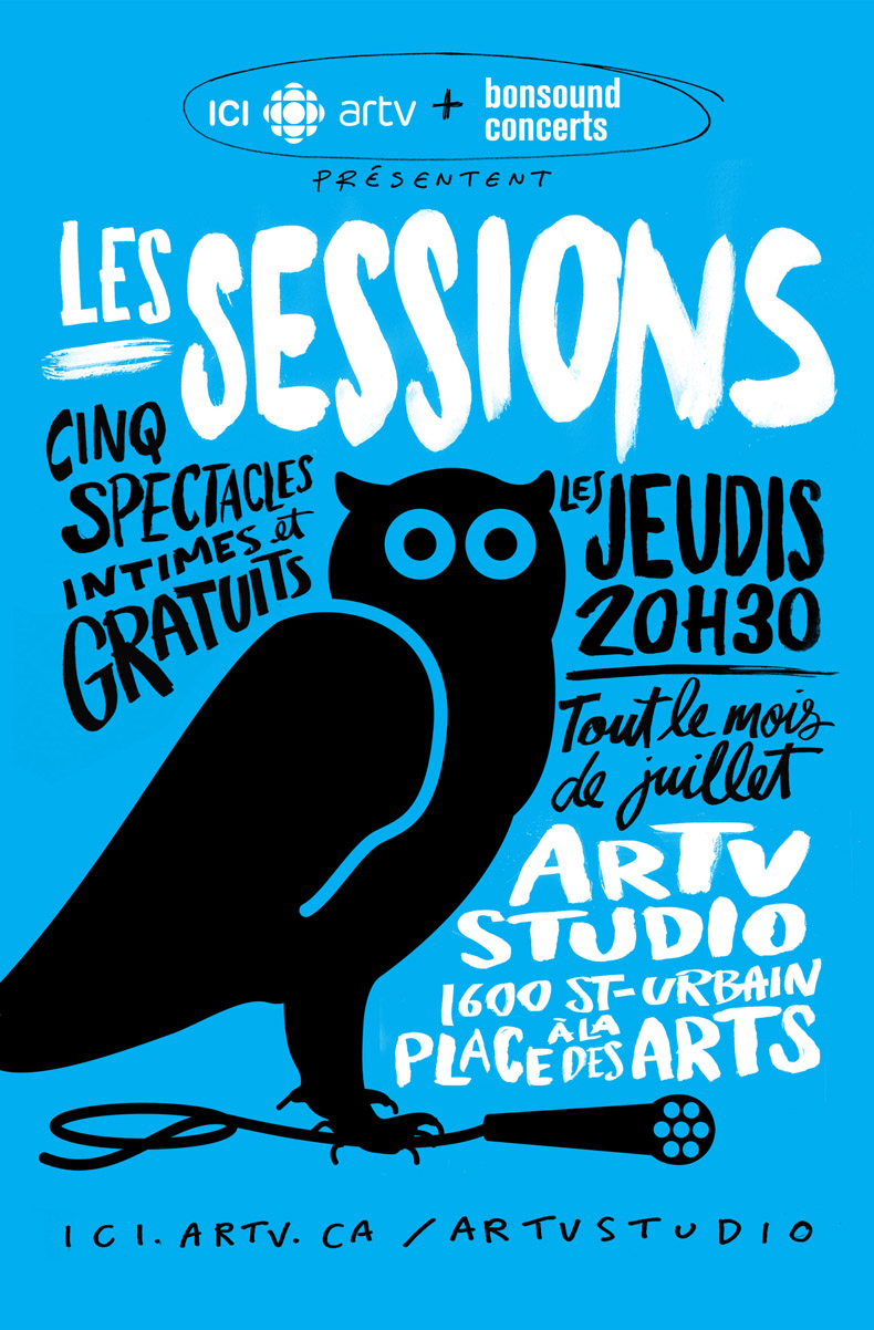 Les Sessions à l'ARTVstudio 2014-2015